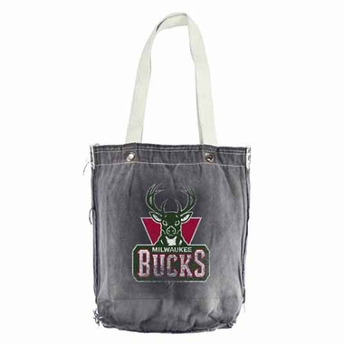 Milwaukee Bucks Vintage Shopper (Black)