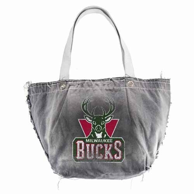 Milwaukee Bucks Vintage Tote (Black)