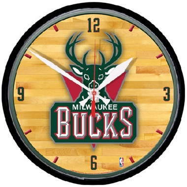 Milwaukee Bucks Wall Clock