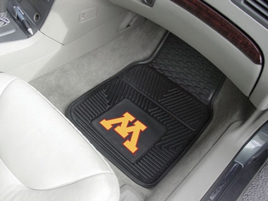 Minnesota 2 Piece Heavy Duty Vinyl Car Mats