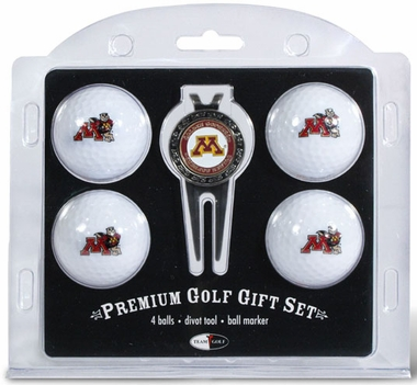 Minnesota 4 Ball and Tool Gift Set