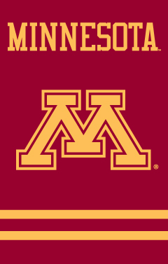 Minnesota Applique Banner Flag