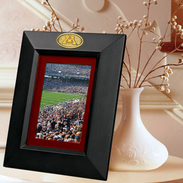 Minnesota BLACK Portrait Picture Frame