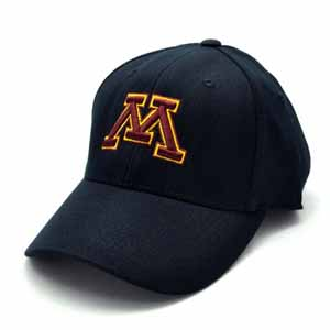 Minnesota Black Premium FlexFit Baseball Hat - Small / Medium