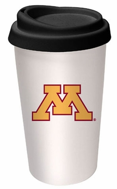 Minnesota Ceramic Travel Cup