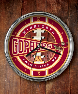 Minnesota Chrome Clock