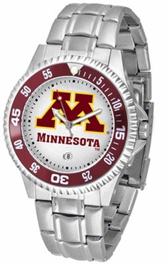 Minnesota Competitor Men's Steel Band Watch