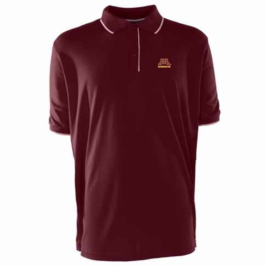 Minnesota Mens Elite Polo Shirt (Team Color: Maroon)
