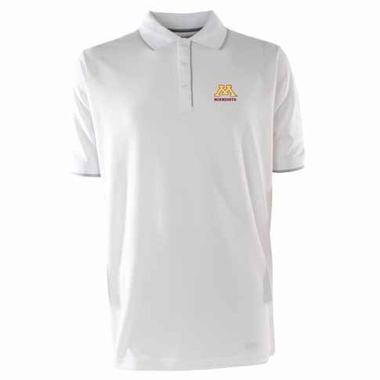 Minnesota Mens Elite Polo Shirt (Color: White)