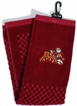 Minnesota Embroidered Golf Towel