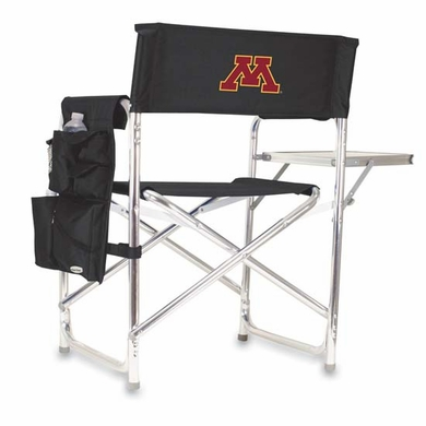 Minnesota Embroidered Sports Chair (Black)