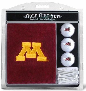 Minnesota Embroidered Towel Golf Gift Set