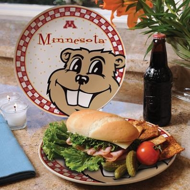 Minnesota Gameday Ceramic Plate