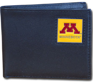 Minnesota Leather Bifold Wallet (F)