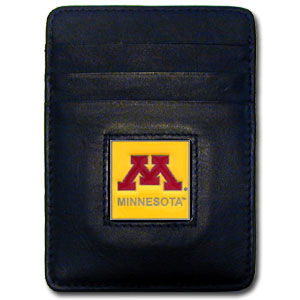 Minnesota Leather Money Clip (F)