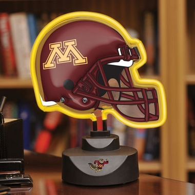 Minnesota Neon Display Helmet