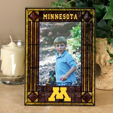 Minnesota Portrait Art Glass Picture Frame
