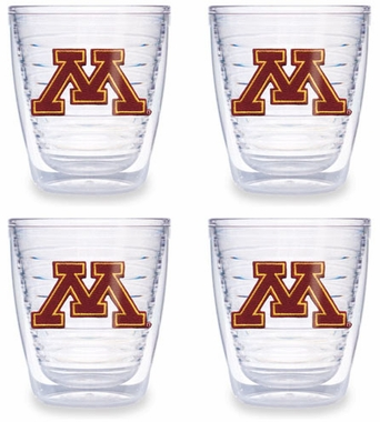 Minnesota Set of FOUR 12 oz. Tervis Tumblers