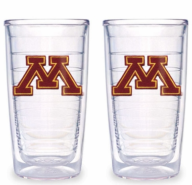 Minnesota Set of TWO 16 oz. Tervis Tumblers