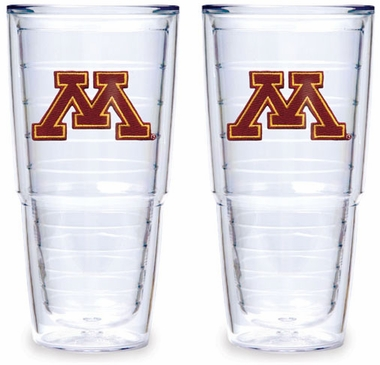 Minnesota Set of TWO 24 oz. Tervis Tumblers