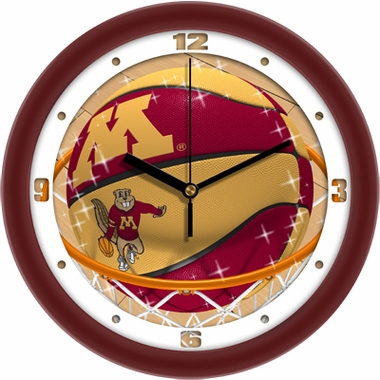 Minnesota Slam Dunk Wall Clock