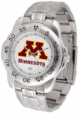 Minnesota Sport Men's Steel Band Watch