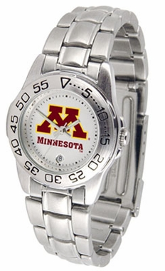 Minnesota Sport Women's Steel Band Watch