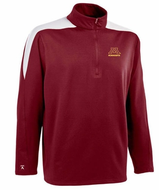 Minnesota Mens Succeed 1/4 Zip Performance Pullover (Team Color: Black)