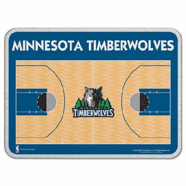 Minnesota Timberwolves 11 x 15 Glass Cutting Board