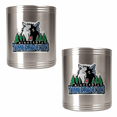 Minnesota Timberwolves 2 Can Holder Set