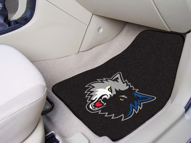 Minnesota Timberwolves 2 Piece Car Mats