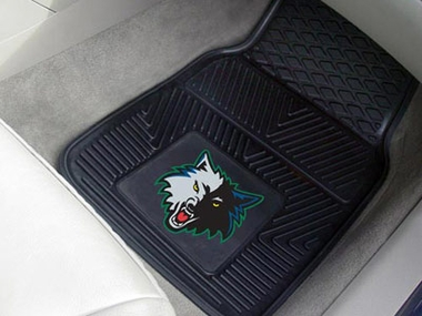 Minnesota Timberwolves 2 Piece Heavy Duty Vinyl Car Mats