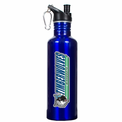Minnesota Timberwolves 26oz Stainless Steel Water Bottle (Team Color)