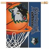 Minnesota Timberwolves Flags & Outdoors