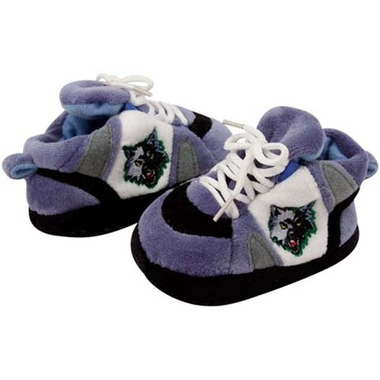 Minnesota Timberwolves Baby Slippers