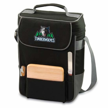 Minnesota Timberwolves Duet Compact Picnic Tote (Black)