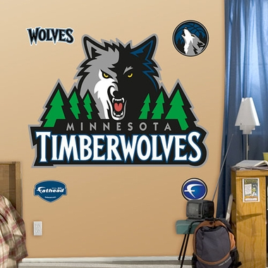Minnesota Timberwolves Logo Fathead Wall Graphic