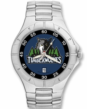 Minnesota Timberwolves Pro II Men's Stainless Steel Watch