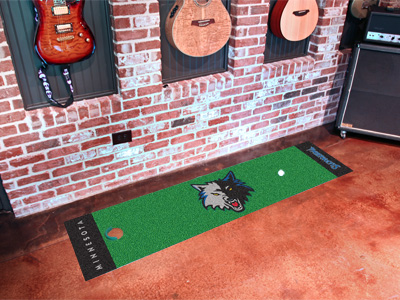 Minnesota Timberwolves Putting Green Mat