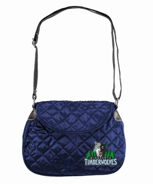 Minnesota Timberwolves Quilted Saddlebag