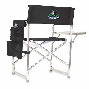 Minnesota Timberwolves Sports Chair (Black)