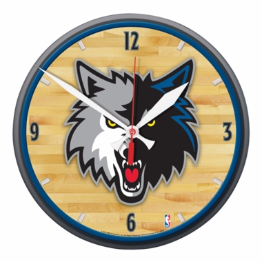 Minnesota Timberwolves Wall Clock