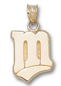Minnesota Twins 10K Gold Pendant