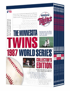 Minnesota Twins 1987 World Series Collection DVD