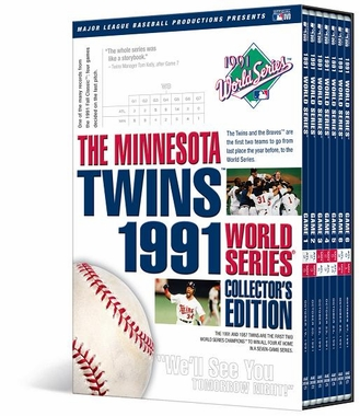 Minnesota Twins 1991 World Series Collector�s Edition DVD
