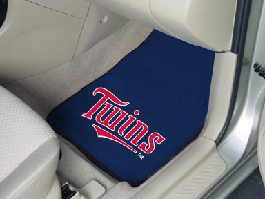 Minnesota Twins 2 Piece Car Mats