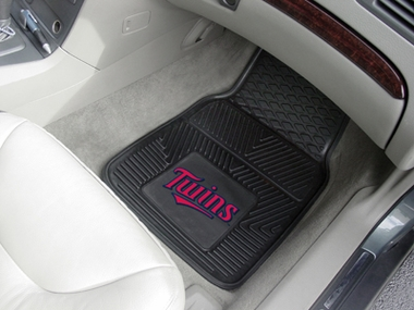 Minnesota Twins 2 Piece Heavy Duty Vinyl Car Mats