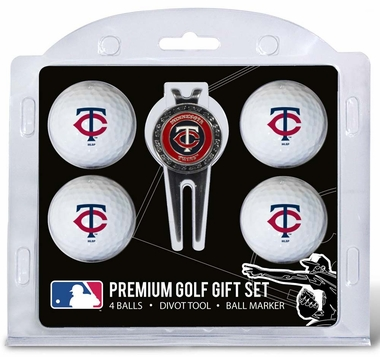 Minnesota Twins 4 Ball and Divot Tool Set