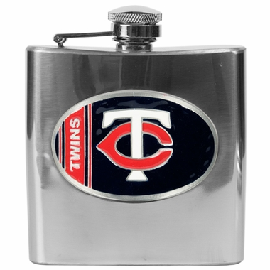 Minnesota Twins 6 oz. Hip Flask