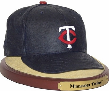 Minnesota Twins Ball Cap Figurine